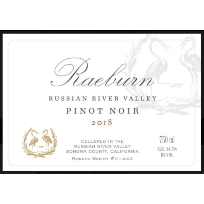 Raeburn Pinot Noir - Gather1