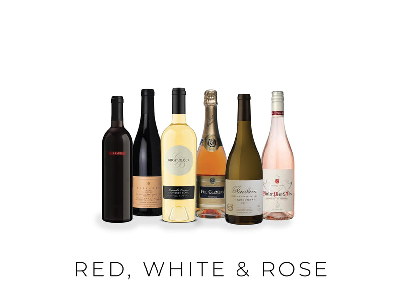 RED WHITE AND ROSE 6/PACK - Gather1