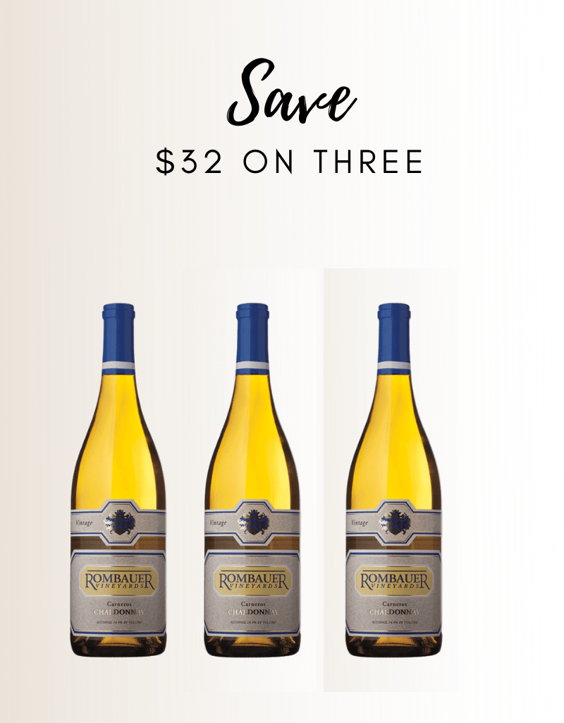 Rombauer Chardonnay 3 PACK - Gather1