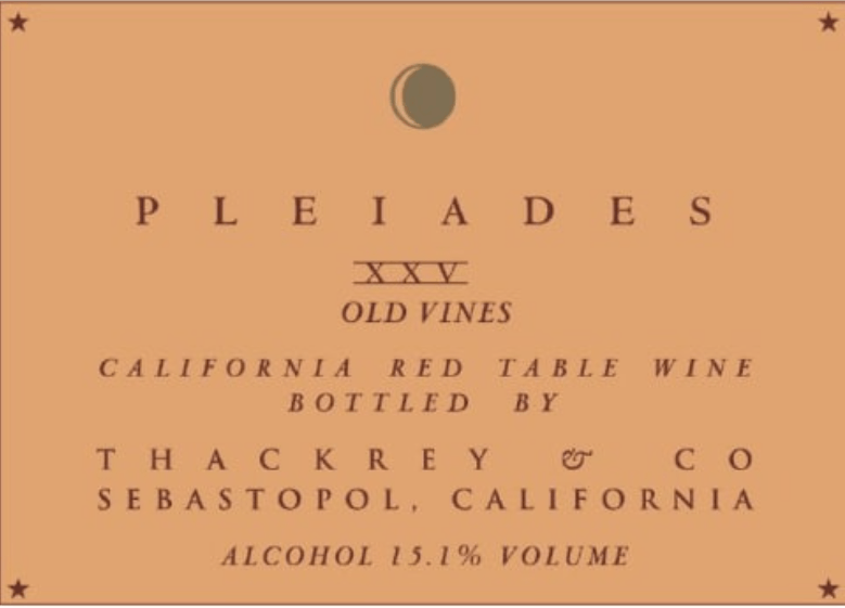 Sean Thackrey Pleiades XXVI Old Vines Red Blend - Gather1