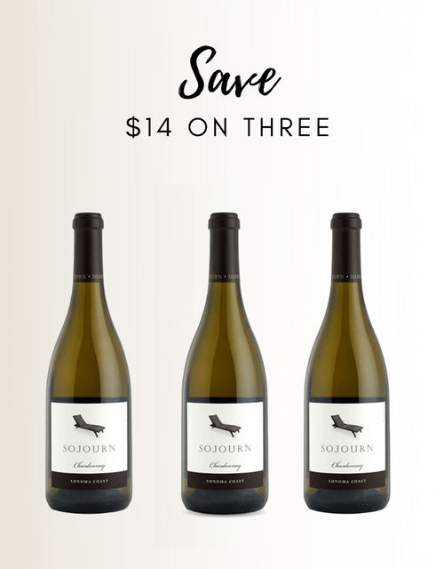 Sojourn SC Chardonnay 3 Pack - Gather1