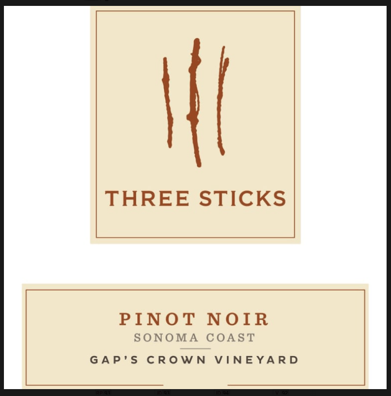 Three Sticks PFV Estate Pinot Noir - Gather1