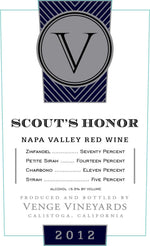 Venge Vineyards Scout's Honor Proprietary Red - Gather1