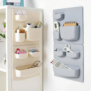 Kitchen finishing rack bathroom wall hanging storage rack home paste type punch-free wall mount LB917118
