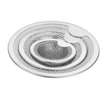 Load image into Gallery viewer, 3 size New Kitchen Stainless Steel Sink Strainer Drain Hole Filter Mesh Trap Bathtub Shower Waste Stopper Drainage for Kitchen