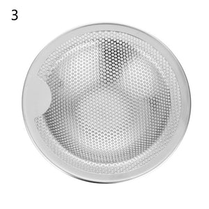 3 size New Kitchen Stainless Steel Sink Strainer Drain Hole Filter Mesh Trap Bathtub Shower Waste Stopper Drainage for Kitchen