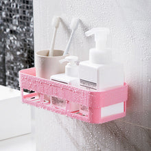 Load image into Gallery viewer, NEW Bathroom Shelf Storage Shampoo Holder Kitchen Storage Rack Organizer Wall Shelf Bathroom Holder Shelves Corner Shower Shelf
