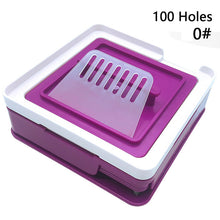 Load image into Gallery viewer, YTK 100 Holes Manual Capsule Filling Machine Manual Encapsulator Capsule Filling Board #000 #00 #0