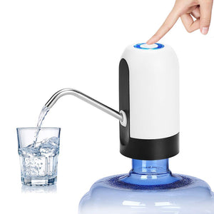 Water Bottle Pump USB Charging Automatic Drinking Water Pump Portable Electric Water Dispenser Water Bottle Switch for U