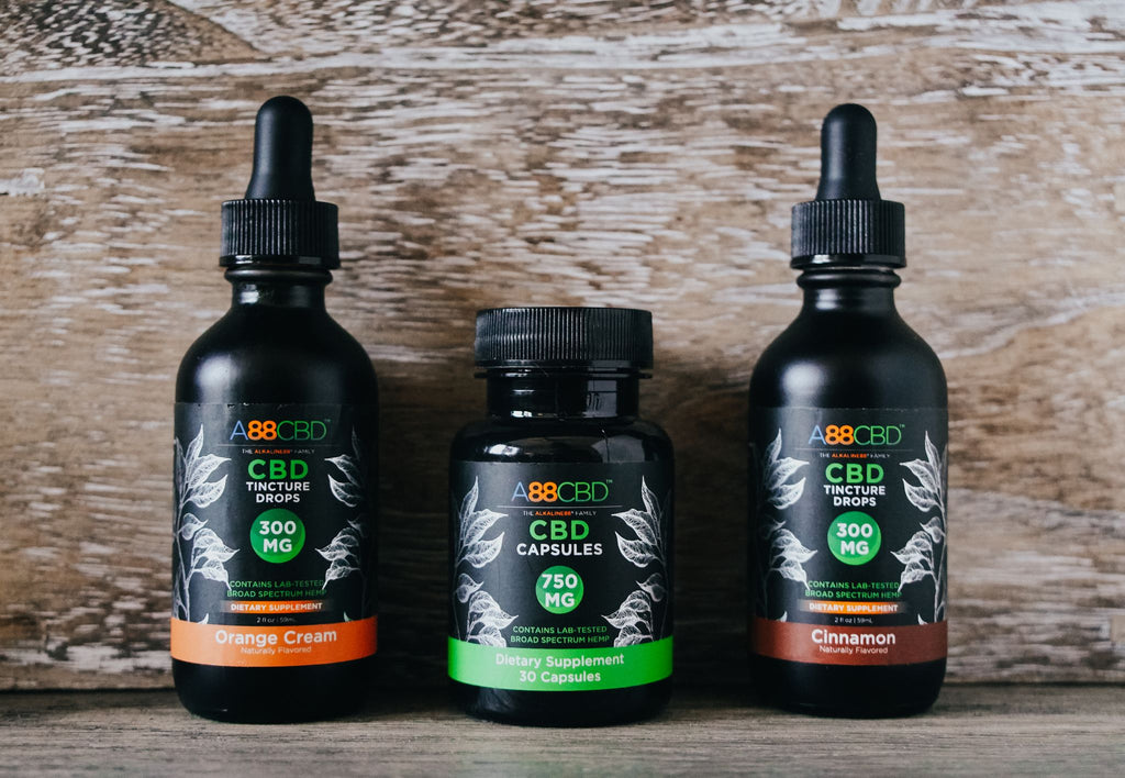 New CBD Edibles! A88CBD™ Launches CBD Tinctures, Capsules, and  Gummies