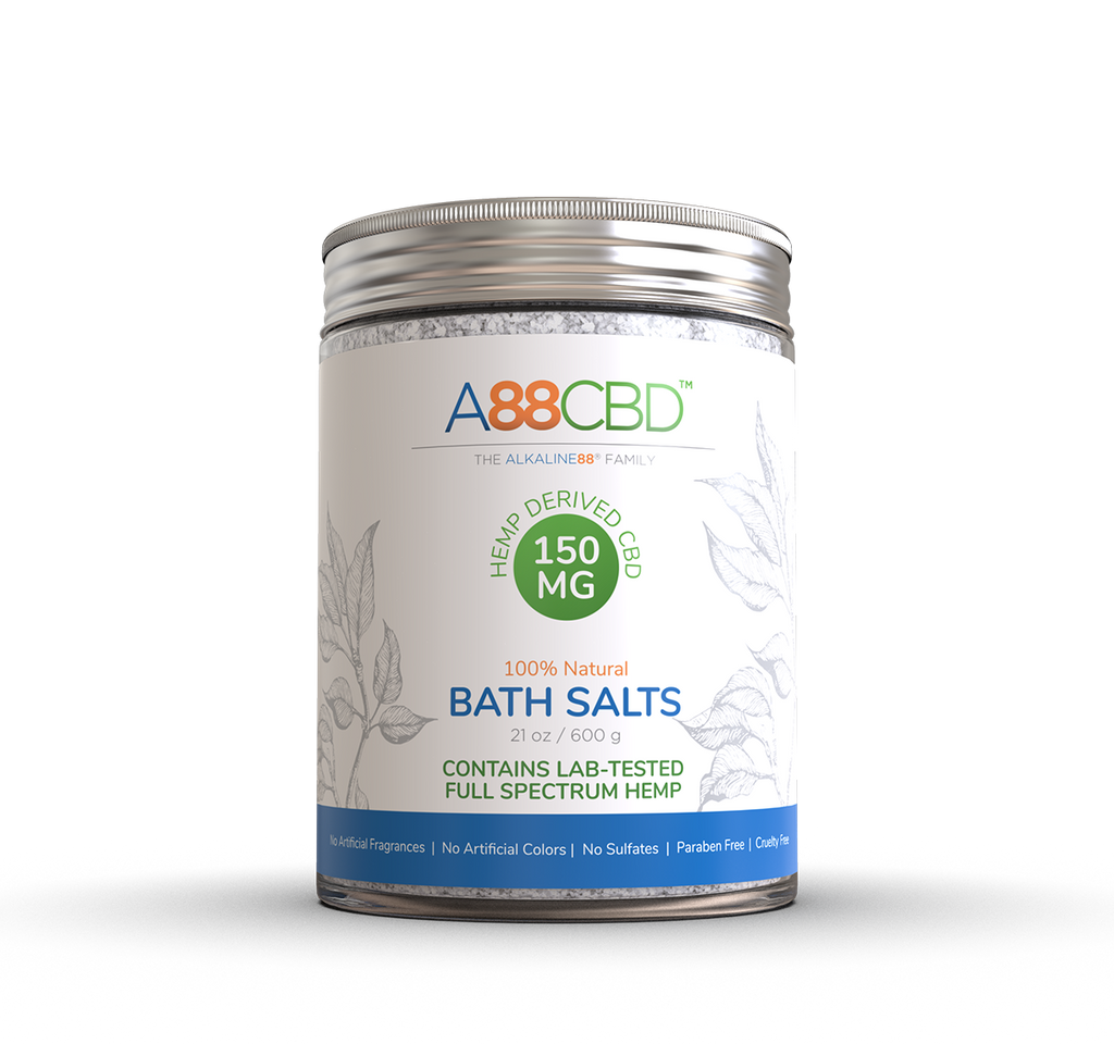 CBD Bath Salts - A88CBD