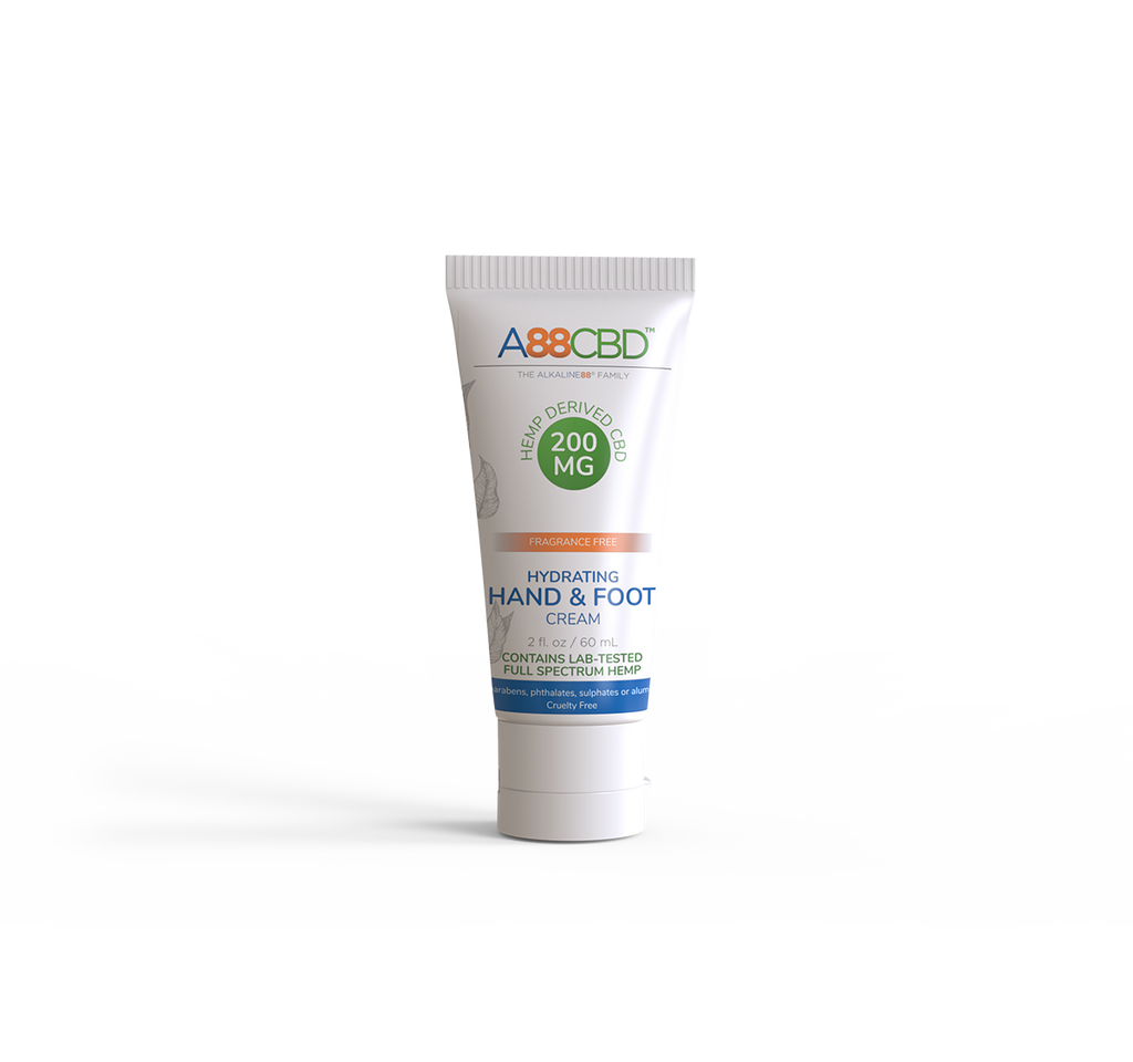 Hydrating CBD Hand + Foot Cream - A88CBD