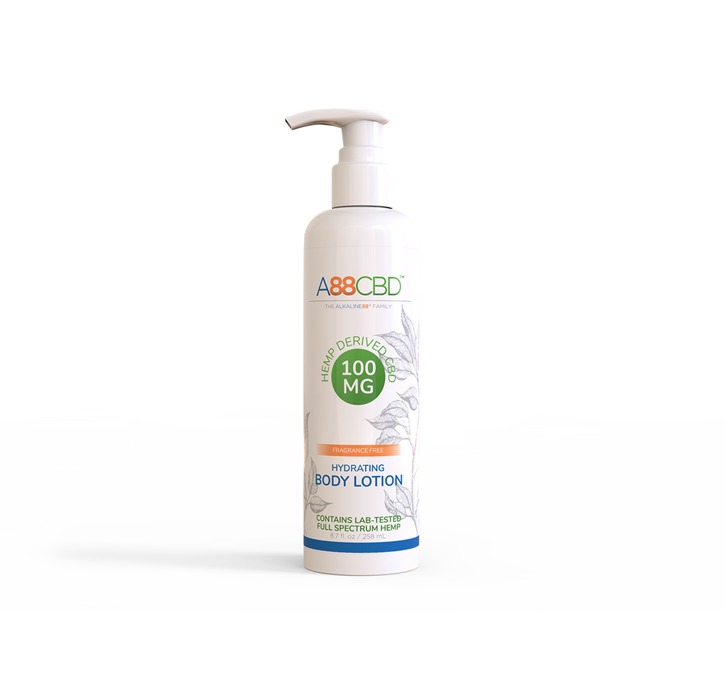 Hydrating CBD Body Lotion - A88CBD™