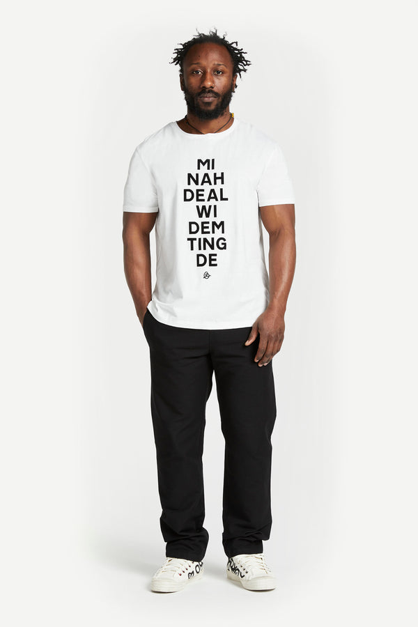 Mi Nah Deal t-shirt White