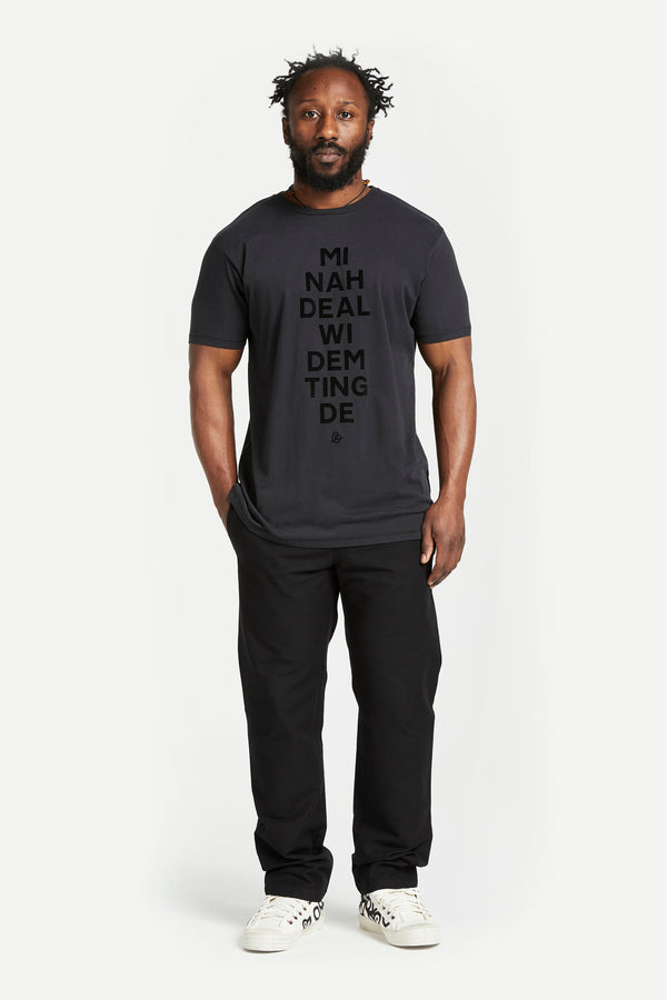 Mi Nah Deal t-shirt Black
