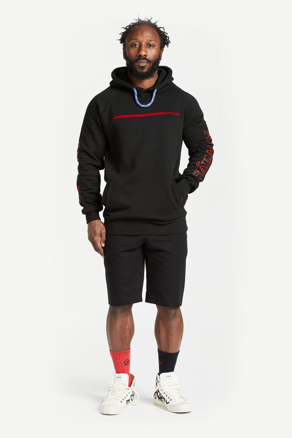 Stripe Worlds Greatest Hoodie Black