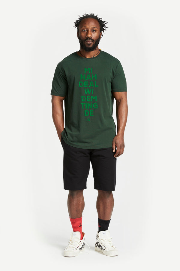 Mi Nah Deal t-shirt Green