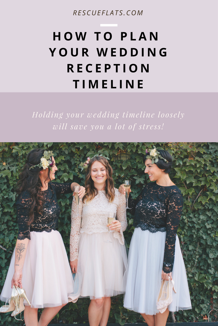 How To Plan Your Wedding Reception Timeline Rescue Flats