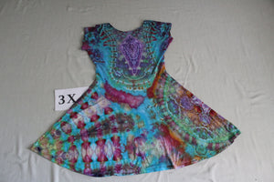 3X Twisted Front Dress
