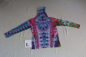 Large Long Sleeve Hooded Shirt