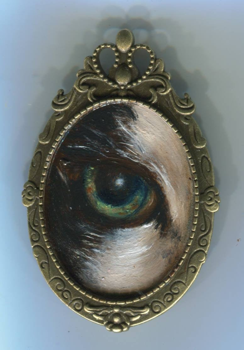 Custom Lovers eye painting