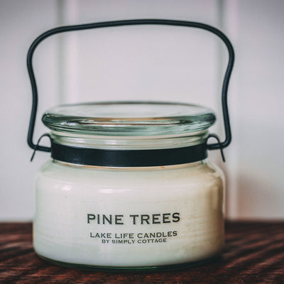 Pine Trees Soy Candle