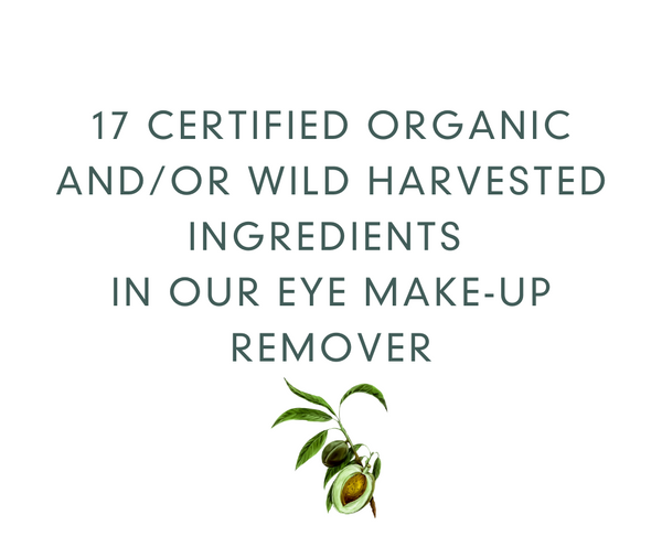 Organic Eye Make-up Remover