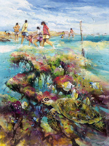 Coral Capers Limited Edition Print
