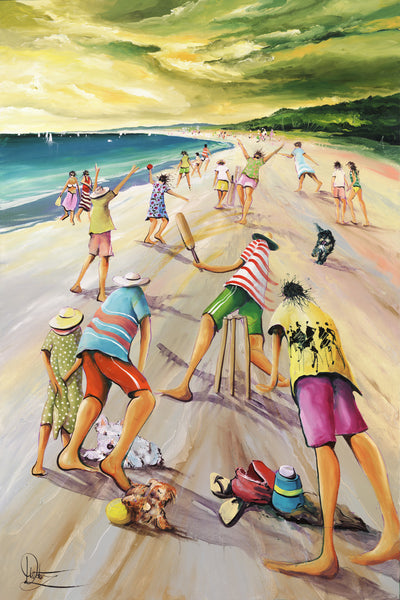 Aussie Day 2018 Print Offer - 'Crowded Stumps'