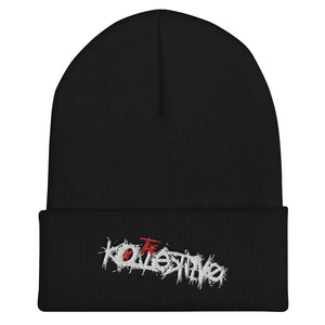The Kollektive Script Beanie (Black)