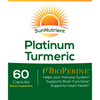 Load image into Gallery viewer, SunNutrient platinum tumeric supplement with bioperine Front Label