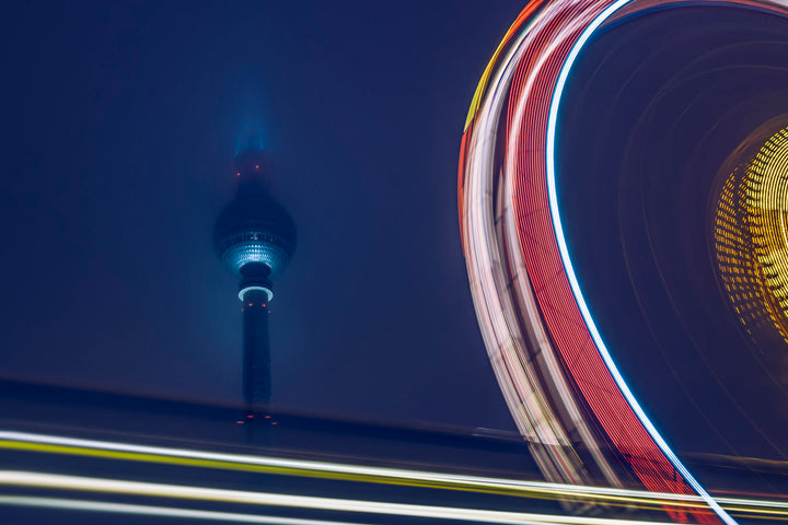 Wheelin Berlin II  - Fotokunst - Fine Art Photography - Alexander-Palm.Photography