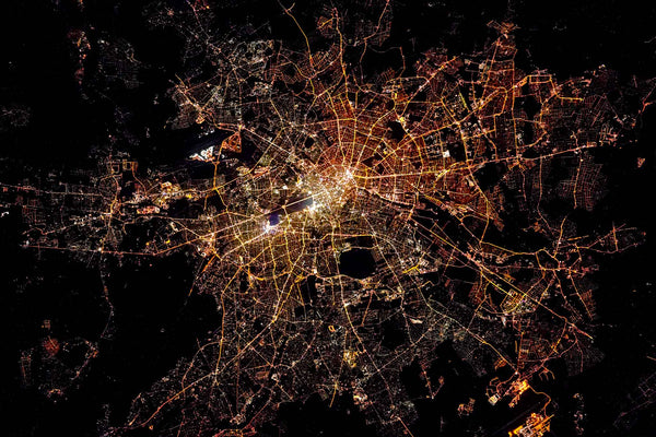Berlin from Space