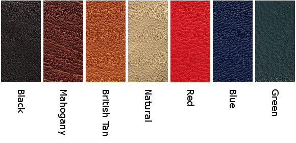 Vegetable-Tanned Leather Colors (will have cosmetic defects)