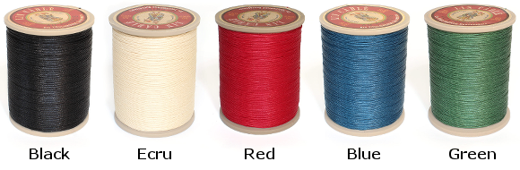 French Waxed Leather Thread Colors