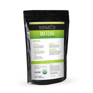 Organic Matcha Green  Tea Powder 1 lb Bag