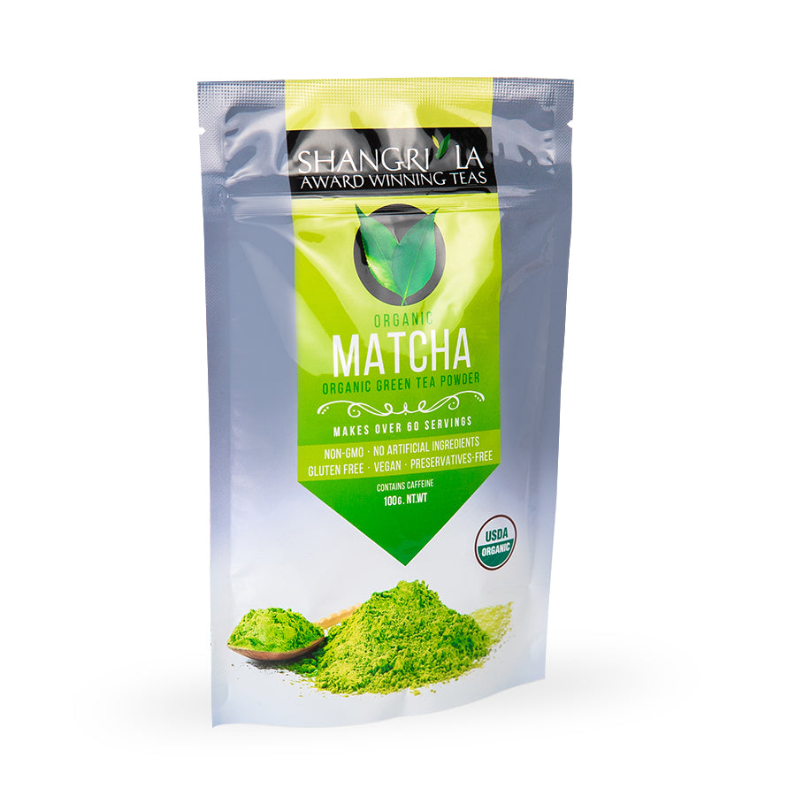 Organic (Ceremonial Grade) Matcha Green Tea Powder