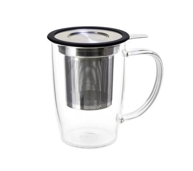 NewLeaf Glass Tall Tea Mug 16 oz.