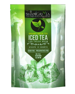 Organic Green Iced Tea