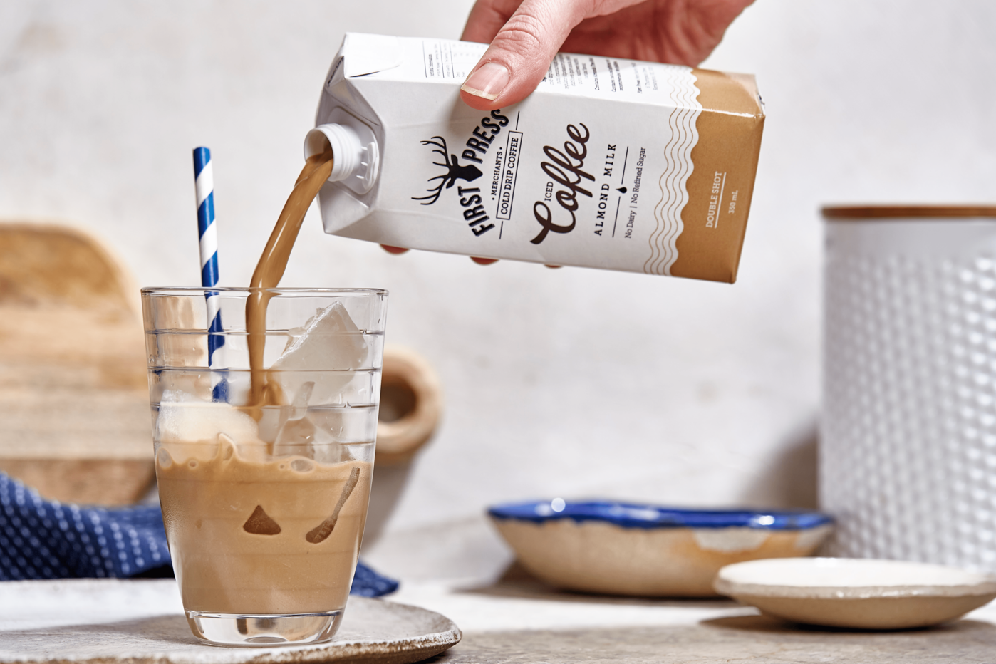 Dairy Free Iced Coffee @ Coles Local