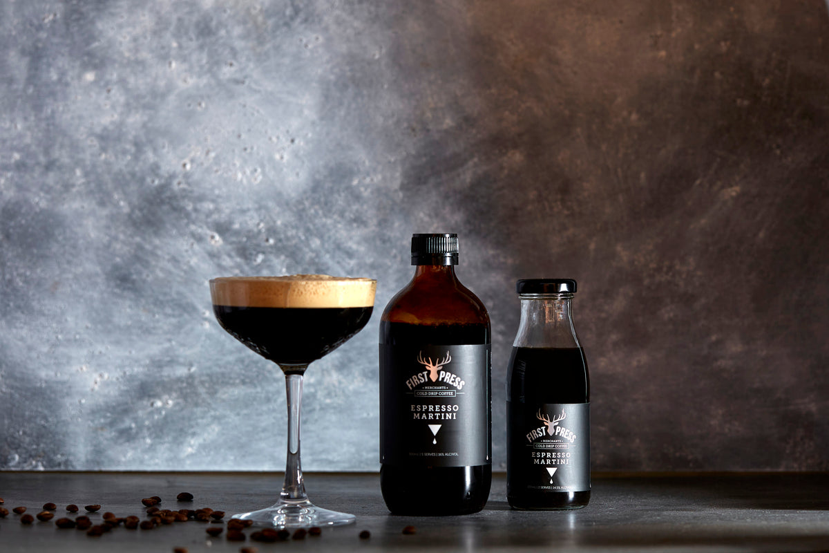 "First Press Espresso Martini ""The Party Starter"" 220ml RTD - 4 Pack"