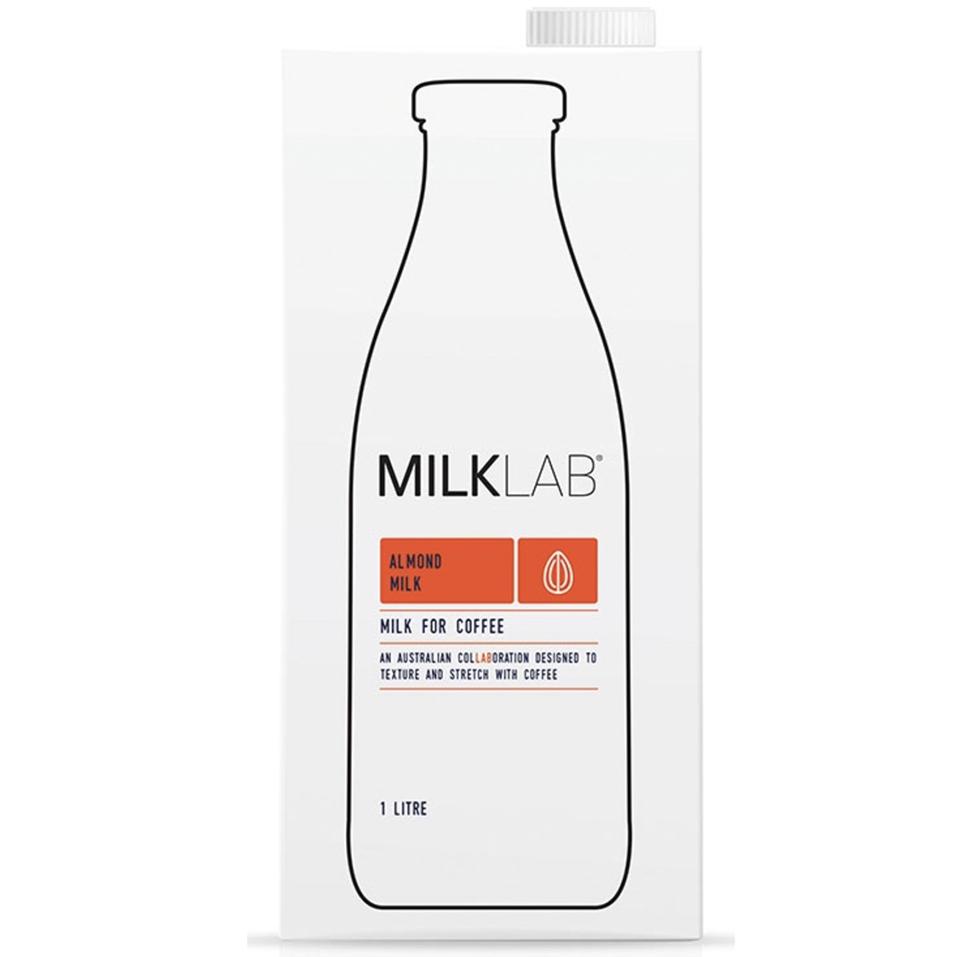Milklab 1 Litre Almond Milk | First Press Cold Drip Coffee | Melbourne Made