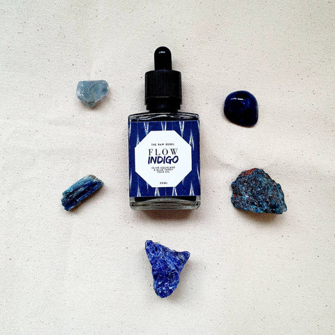 Flow Indigo — Face Oil