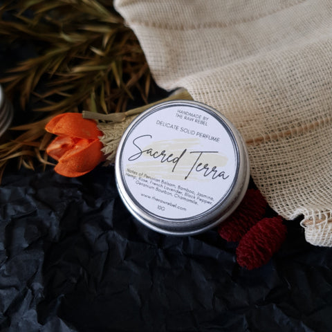 Sacred Terra — Delicate Solid Perfume