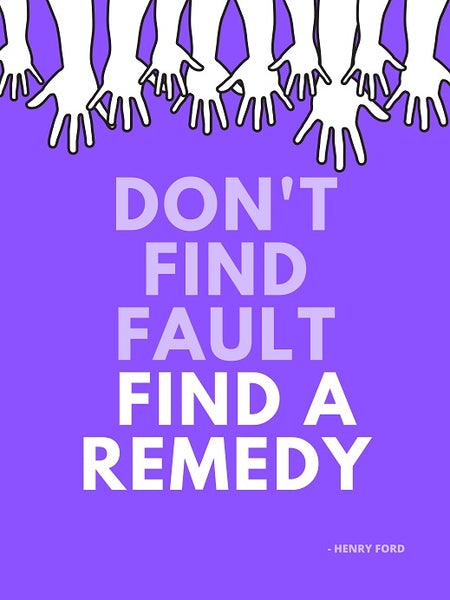 Find a remedy digital poster