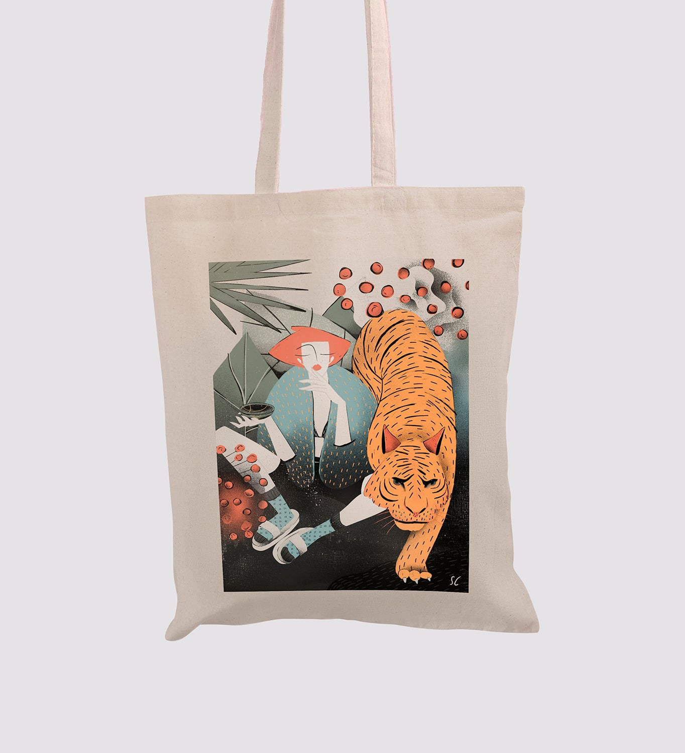 Tote bag Love your wild side