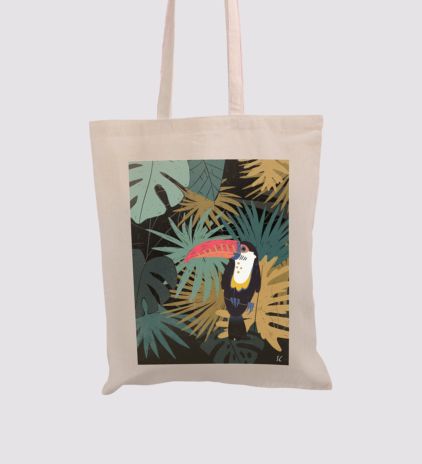 Tote bag Tropical flavor