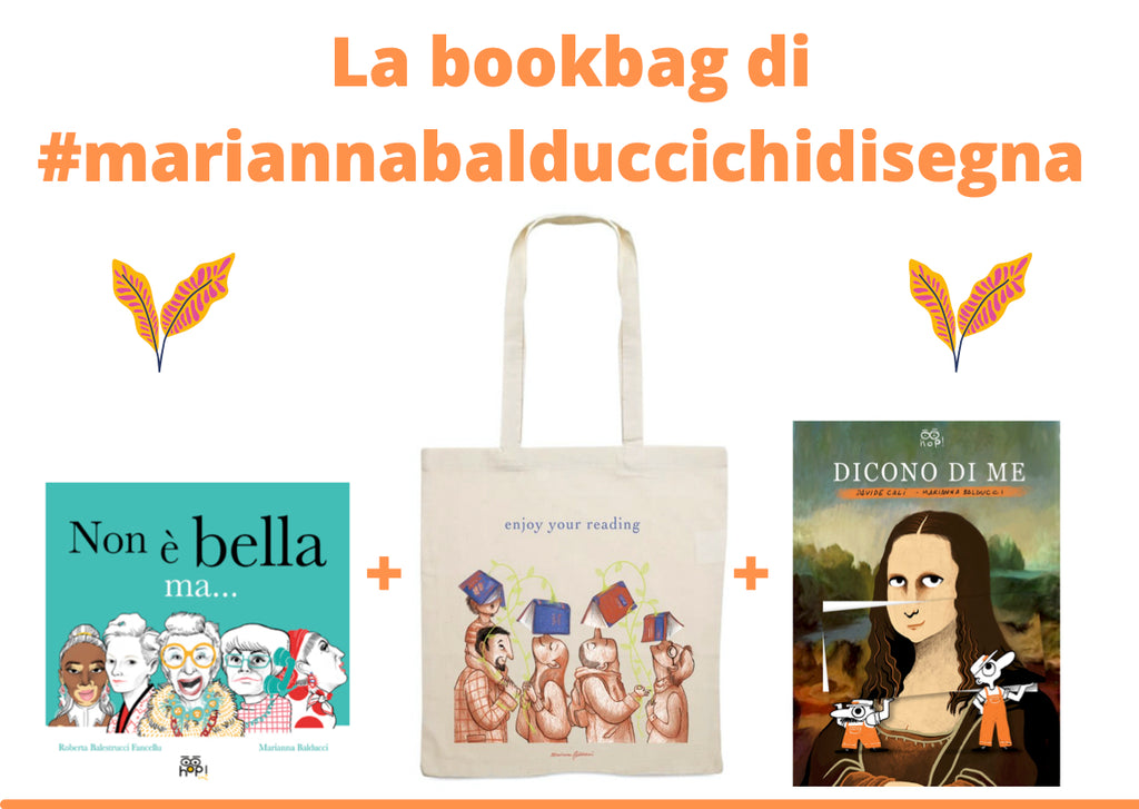 La Bookbag di #mariannabalduccichidisegna - Enjoy your reading