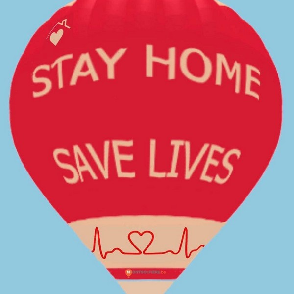 Stay home ! Save lives