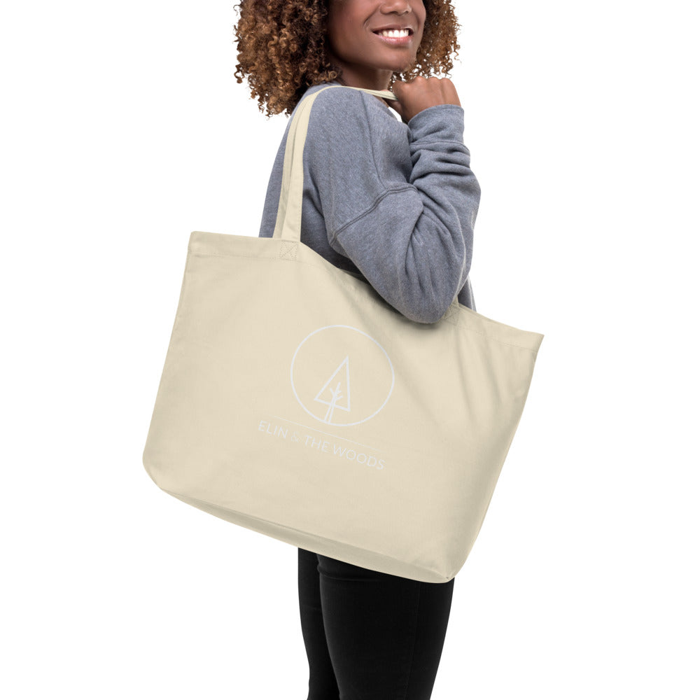 Elin & The Woods Large organic tote bag